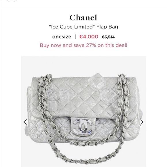 87151b922fd2 CHANEL Bags   Ice Cube Limited   Poshmark
